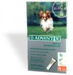 Antiparassitario Cane Piccolo 1-4 kg Advantix BAYER