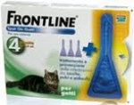 Antiparassitario Gatto Frontline Spot On 4 Fiale da 0,5 ml