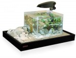 Acquario con Accessori Zen 50 Combi Nero WAVE