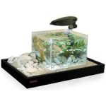 Acquario con Accessori Zen 75 Combi Nero WAVE